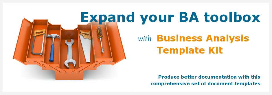 Business analysis template kit flashek Choice Image